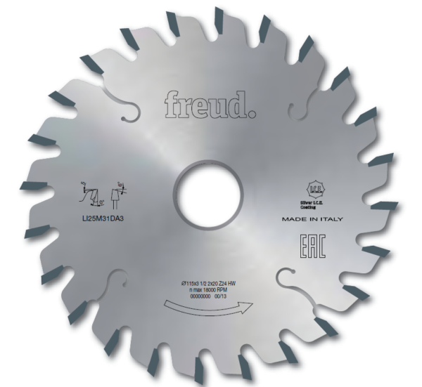 LI25M - Conical scoring saw blades