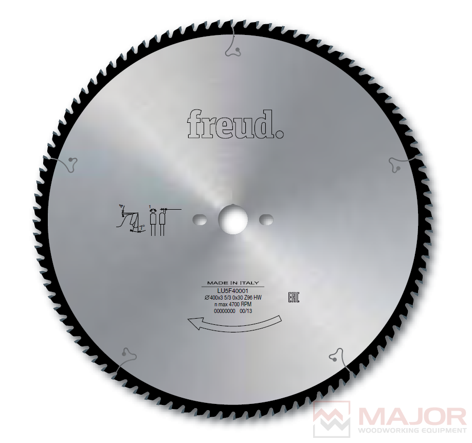 LU5F - Saw Blades to cut Aluminum and non-ferrous metals