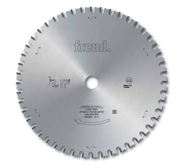 LU6A - Saw blades to cut ferrous metals
