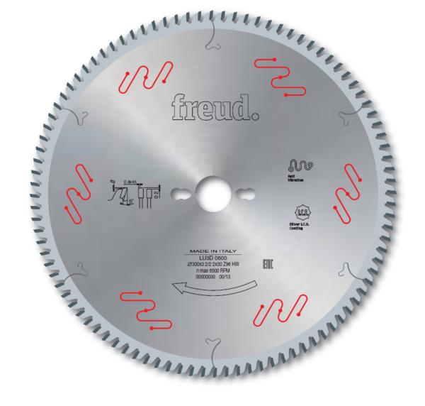 LU3D - Saw blades to cut Melamine Panels