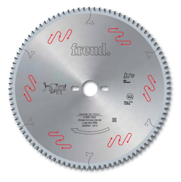 LU5D - Saw blades to cut Aluminium and non-ferrous metals