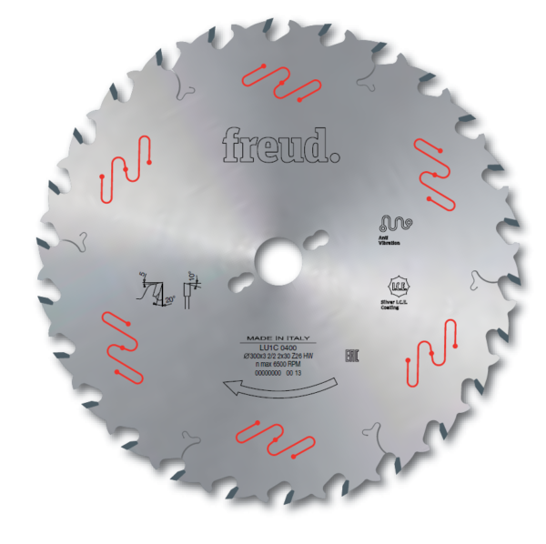 LU1C - Saw blades for Timber Ripping with Anti Kickback Design