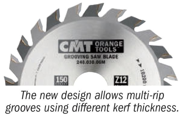 240 Grooving Saw Blades Industrial Line
