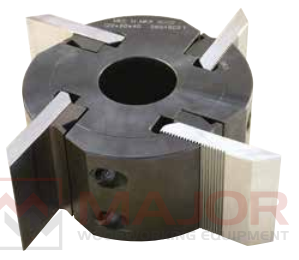 TPCZM Serrated profile cutter head