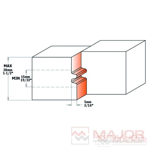 694.009 Reverse Glue Joint Cutter Heads