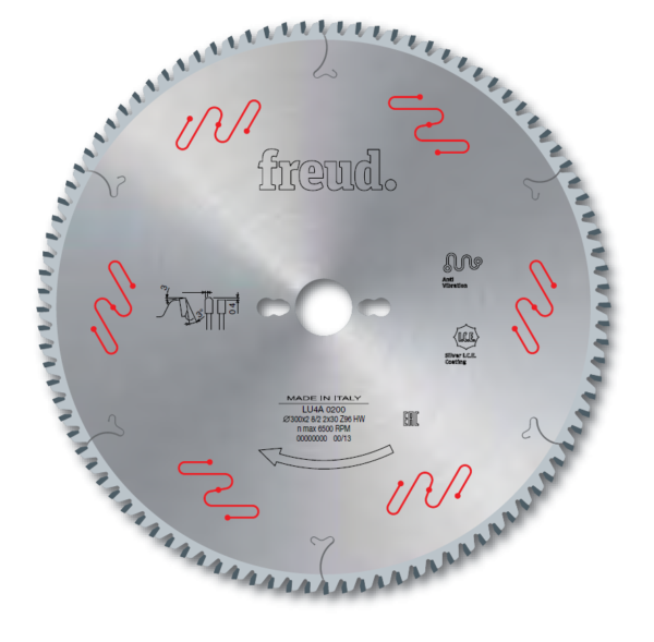 LU4A - Saw Blades To Cut Plastic Materials